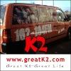 solvent-based bubble free removable car window sticker . car decoration sticker ,polymeric car wrap vinyl film