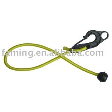shock cord yellow one ball one adjustable hook