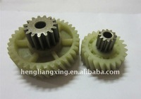 plastic injection mould helical gear
