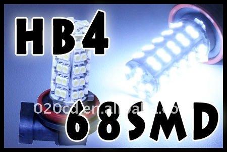 - HB4_68SMD_LED_Xenon_White_Car_Fog