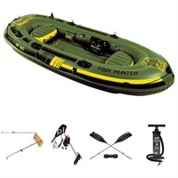 inflatable 3 person fishing boat