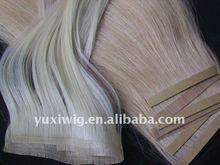 Hot sale 100% PU Human Hair Extension
