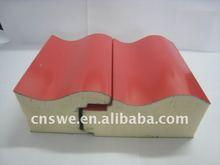High quality polyurethane foam sandwich panel for wall