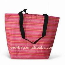 Long Handled polyester Tote Shopper Bag