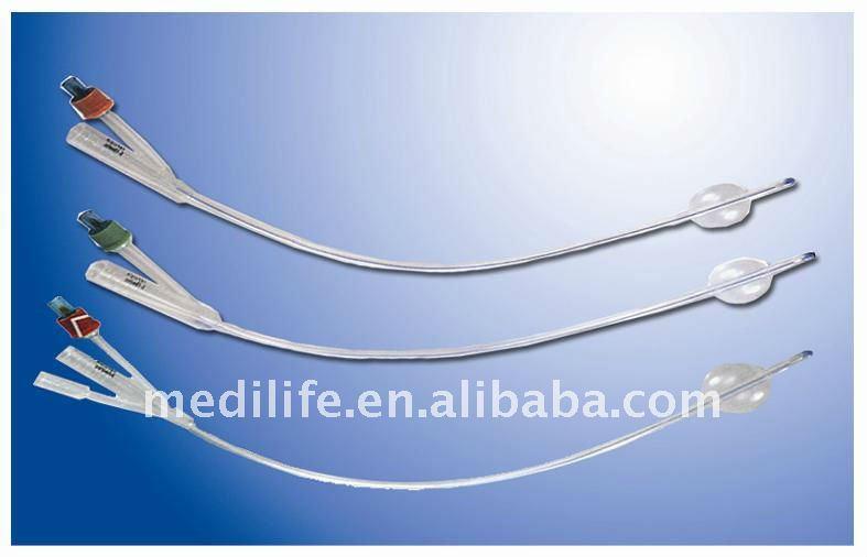 Uretral catéteres en 100% de silicona
