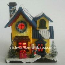 LED light paper Christmas house decoration