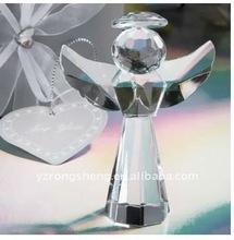 Crystal glass angel