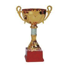 Golden plating metal sports award ideas