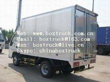 aluminum truck body/aluminum van body/dry freight cargo body