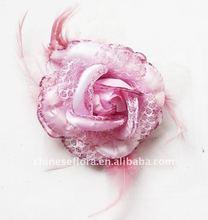 fashion satin rose corsage