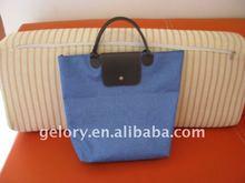 2012 popular microfiber ladies' foldable shopping bag