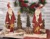 christmas santa table decor