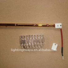 Quartz Gold /Ruby Coated Infrared heating lamp 220V 1000W