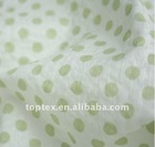 100% cotton printed voile fabric