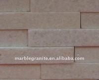 Pink Natural Slate Wall Block