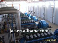 500-600RPM heavy fuel oil generators 1MW to 5MW