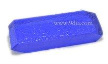 Created Blue Topaz Rough Synthetic Gemstone Rough Lab Created Quartz Rough