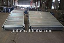 JT ISO 9001 carbon steel Slat chain conveyor