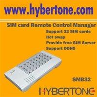 32 SIM Cards Remote Contorl Manager,SIM BANK