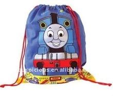 company promotional drawstring polyester bag
