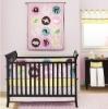 Zoo 6pcs baby crib bedding set
