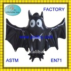 hot sale plastic pvc air inflatable bat toy for Hallowmas