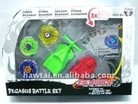 metal beyblade 4D/ 2 launcher+3 wheels