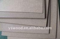 E1/E2 plain raw MDF sheet/wood for furniture or building
