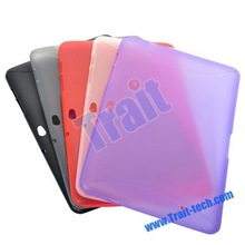 High Quality Transparent TPU Hard Case for Samsung Galaxy Tab P7510/ P7500