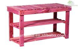 NKD Cedar Shoe Bench