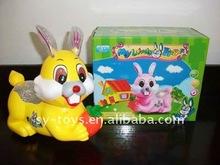 Electric cartoon rabbit