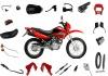 Nxr125 bros motorcycle parts