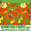 100%PP spunbond nonwoven printed felt fabric