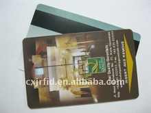 pvc membership card with magnetic stripe