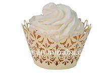Customized Ivory cake picks cupcake decorations