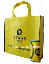 High quality nonwoven foldable tote bag