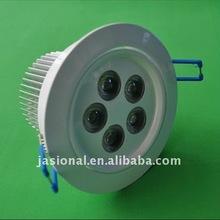 Ultra-bright LED kit 5w gimbal in white adjustable/dimmable led downlight 2700K 240V