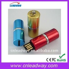 Fashion lady lipstick makeup promotional gift USB memory stick