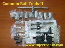 Herramientas de desmontaje y montaje de inyectores de CR
