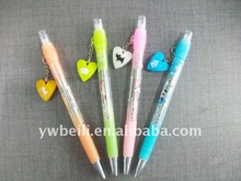 with lanyard promotion plastic Erasable ball point pen