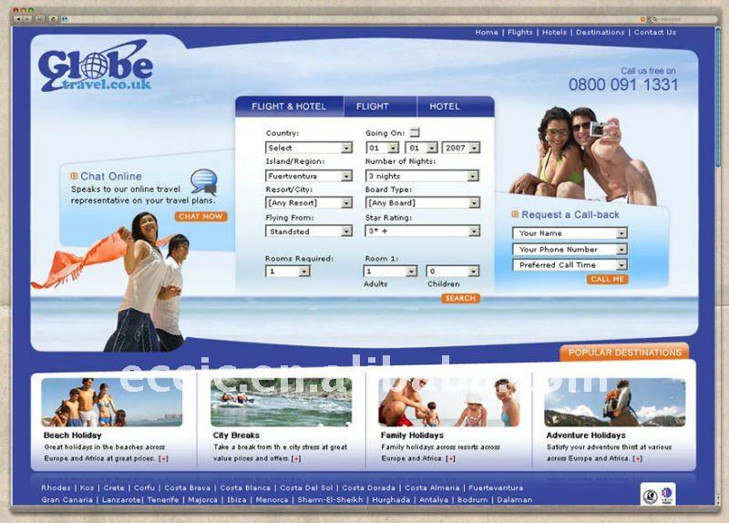 Ticket Design Online Online Travel Website Design