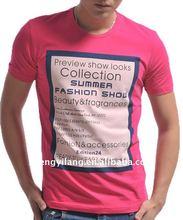 stylish slim fit men's cotton tshirts