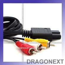 Av Cable For Snes Nintendo N64 Gamecube Tv Game System