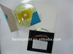 paper folder / paper CD Card slot / paper CD case