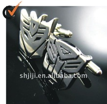 Good and bad people set metal jewelry cufflink