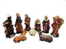 Polyresin nativity set 2012 factory derect sale