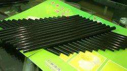 W124 black hot bond adhesive