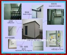 outdoor industrial BTS mobile PU telecom equipment shelter