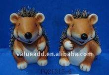 ceramic decorative hedgehog