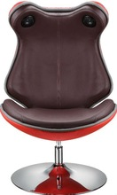 2011 frog shape eye-catching red lounge chair